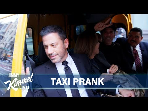 Jagger - Jimmy Kimmel pranking cab passengers in New York!