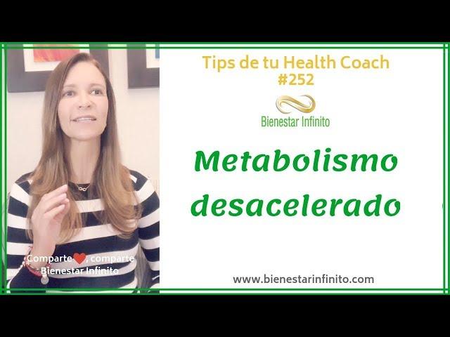 Metabolismo desacelerado