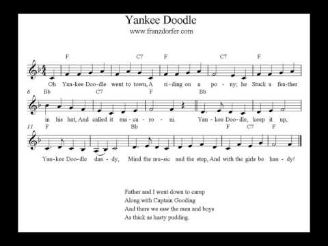 Yankee Doodle   Play Clarinet   Easy for  Beginner