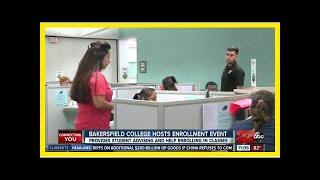 Breaking News | Students apply and enroll in one day at Bakersfield College