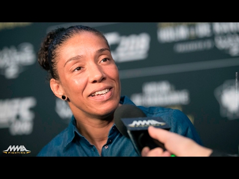 UFC 208: Germaine de Randamie: Winning Featherweight Title 'Will Solidify My Career'