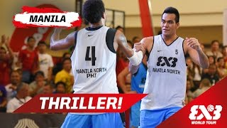 Ljubljana (SLO) vs Manila North (PHI) - Full Game - Manila - 2015 FIBA 3x3 World Tour