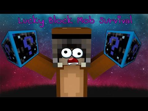 Minecraft Lucky Block Mob Survival # 32 กล่องลัคกี้บล็อคกาแลคซี่