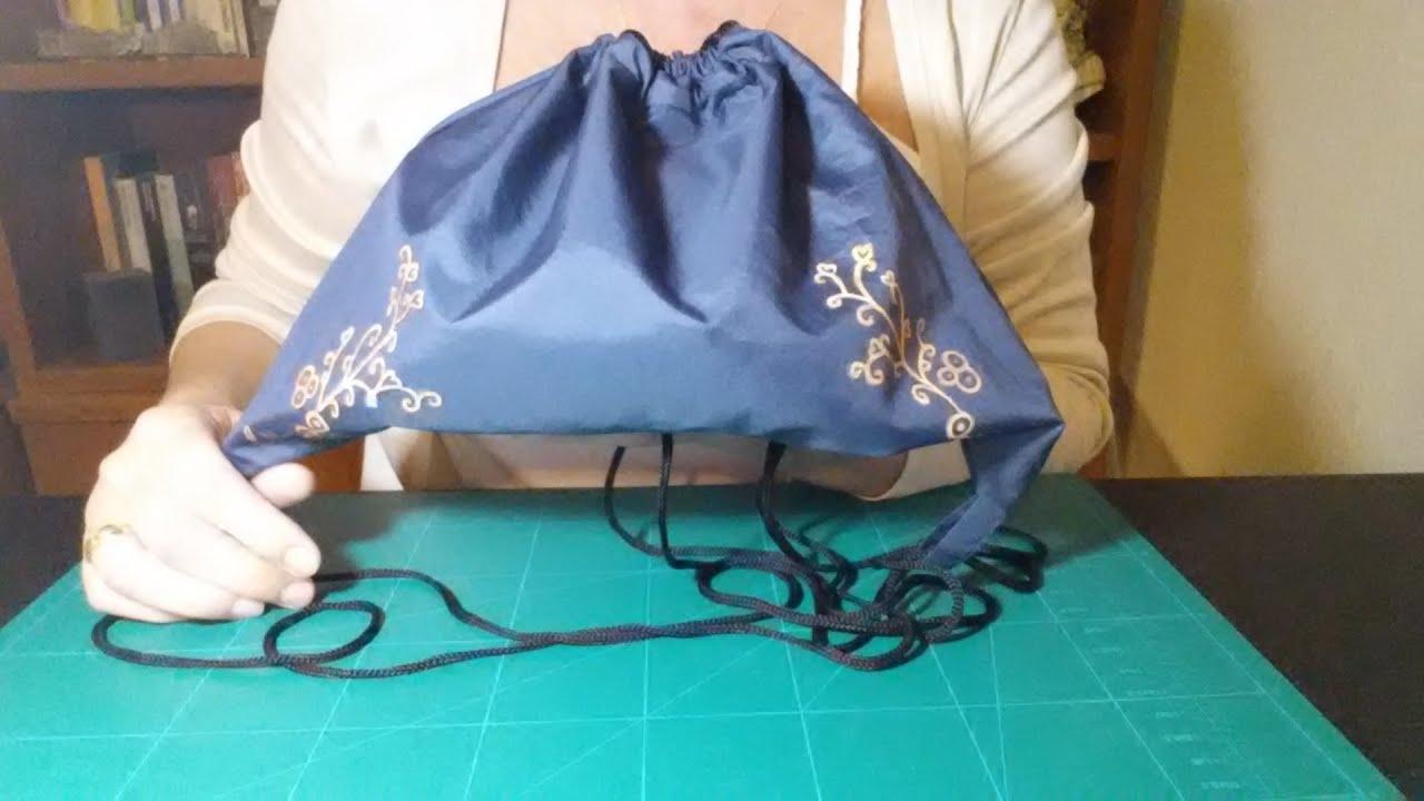 C mo hacer una mochila con tela de paraguas facilisimo - Como forrar muebles con tela ...