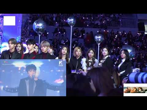 TWICE Reaction To WINNER Really Really & Love Me Love Me MMA 2017