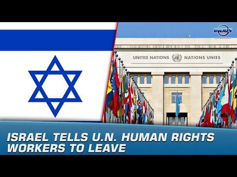 Israel Tells U.N. Human Rights Workers To Leave | News Bulletin | Indus News