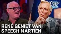 René geniet van speech Martien Meiland bij Televizier Gala | VERONICA INSIDE