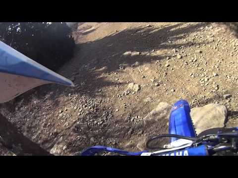 Dirt biking at Perry Lake ATV Area, Perry, Kansas Paul with Posty 1 2017 03 05