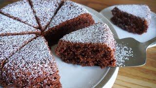 [材料3つ・メレンゲ作業なし]  炊飯器でできる!ふわふわガトーショコラ作り方 Gateau chocolat 가토 쇼콜라