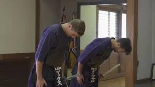 ダニエル・リカルドとマックス・フェルスタッペンが剣道に挑戦