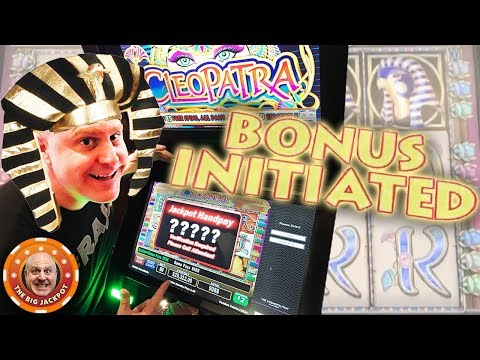 ?Cleopatra Bonus Initiated! ?HIGH LIMIT JACKPOT WINS! ?- The Big Jackpot - 동영상