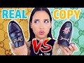REAL vs COPY GUCCI LOAFERS - $1000 DIFFERENCE 😱 | Mar