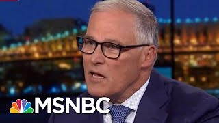 Governor Jay Inslee Announces Exit From Democratic Primary Race   Rachel Maddow   MSNBC