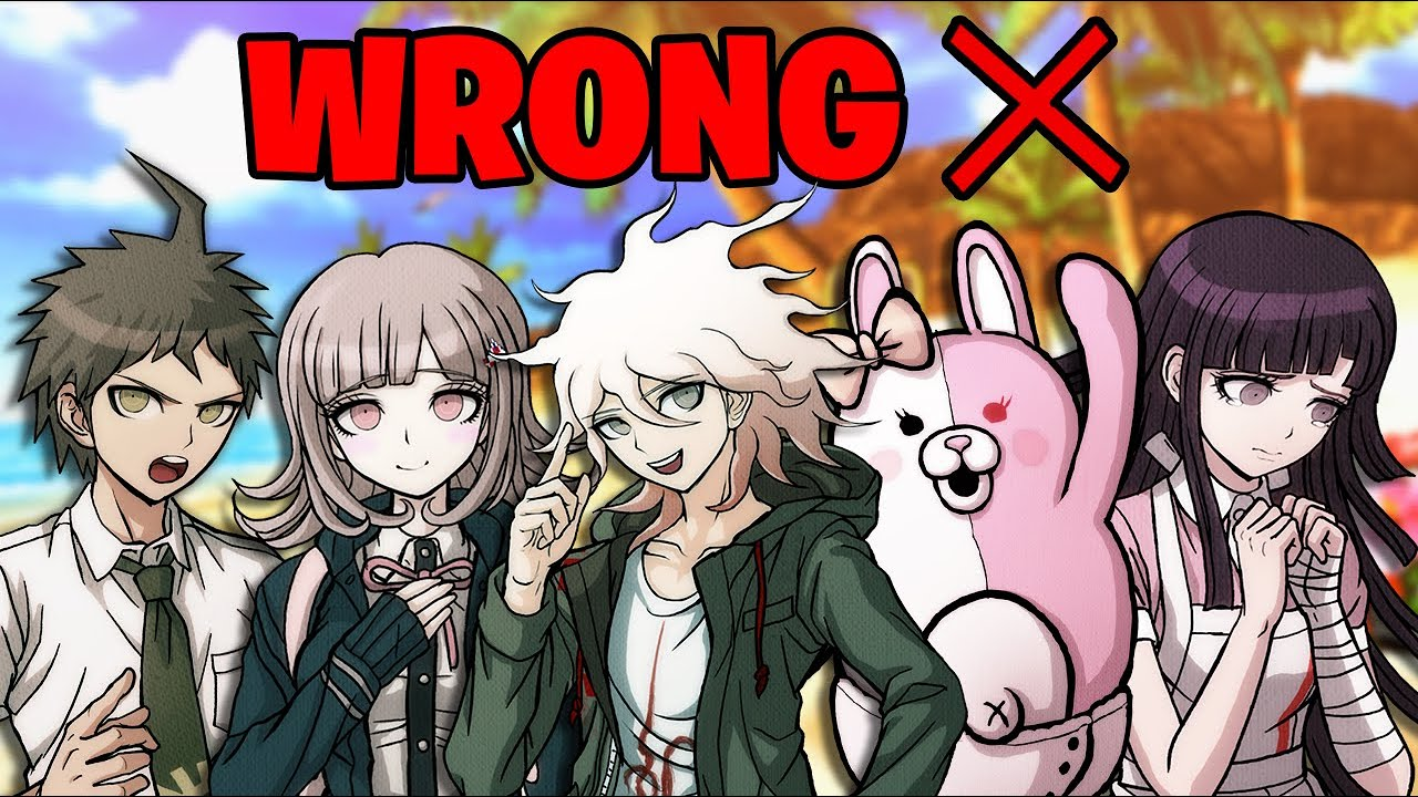 Everything wrong with Danganronpa 2 in less than 3 minutes
