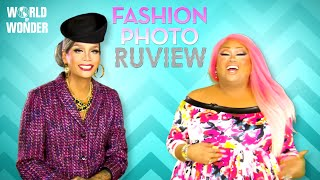 RuPaul's Drag Race Fashion Photo RuView with Raja and Jiggly Caliente: Pop Divas