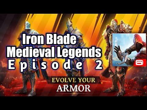 Iron Blade : Medieval Legends : #3⚔️Iron Blade Gameplay Episode 2⚔️