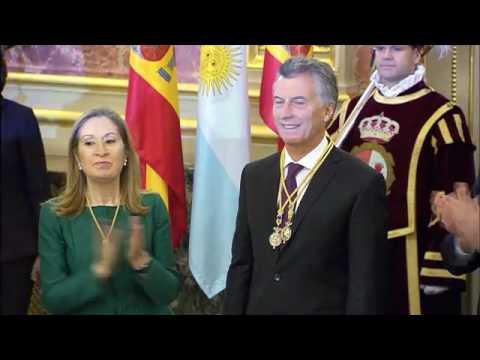 Visita de Estado del Presidente de la República Argentina, Mauricio Macri, a España.