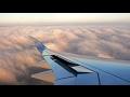 BEAUTIFUL LUFTHANSA A350 SUNSET LANDING IN MUNICH