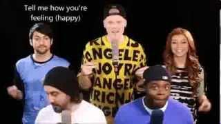 Repeat youtube video Pentatonix - Happy (HD LYRICS)