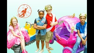 New Sky Kids Super Episode - High Top Princess Friendship Lessons and the Pink Princess Carriage