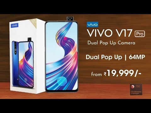 Vivo V17 Pro The Best Camera  Phone?  64MP Quad Camera, Dual Selfie Camera, Indisplay Fingerprint  !