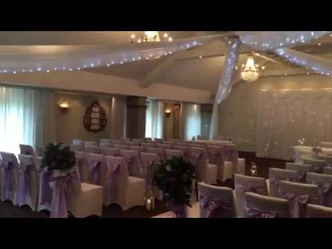 Ceiling Drapes for Weddings - Stanley House Hotel & Spa - YouTube