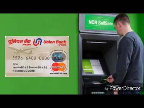 Union Bank of India ATM Green Pin Generation simpl