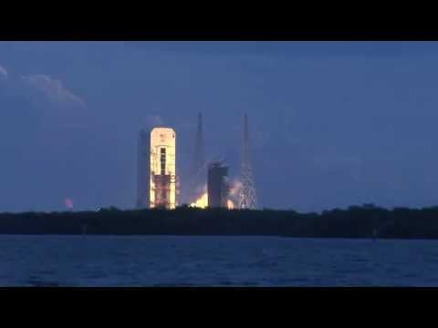 View of the launch of Orion from NASA Causeway (EFT-1)