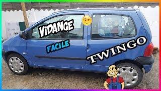 🛠Tuto🛠 Entretien twingo 1    facile et rapide (vidange)  ★tuto YouTube★