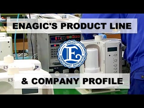Enagic Product & Company Profile: (This is an oldie but goodie!) 💧