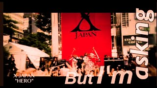 X Japan - Hero (lyric video trailer)