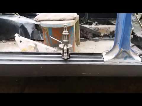 Замена порогов на ваз 2106 своими руками видео