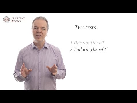 Talk 1: An Introduction To Capital Allowances