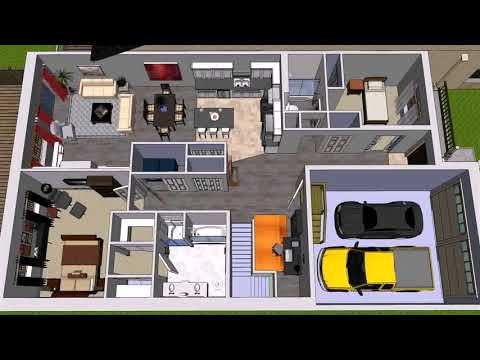 Simple House Plans In Botswana