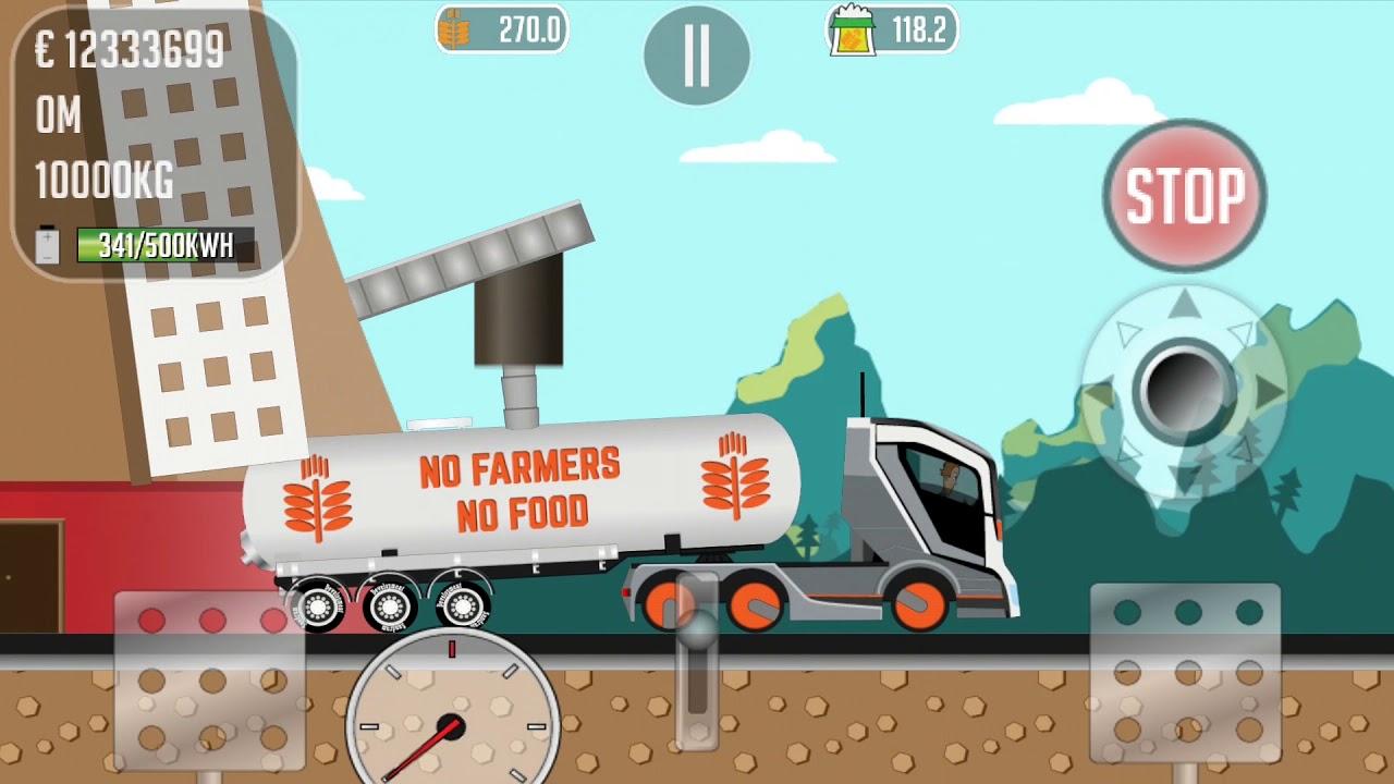 Trucker Joe - Loading and unloading flour - YouTube