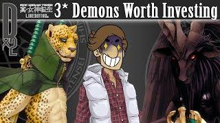 Shin Megami Tensei Liberation Dx2 - 3* Demons Worth Investing