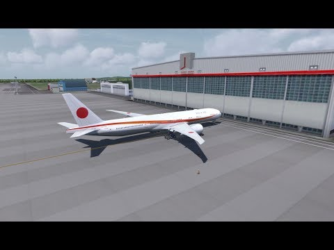 【B777/JAPAN】Tokyo/Haneda(RJTT) - Hiroshima(RJOA)【P3D/FSX/VATSIM】