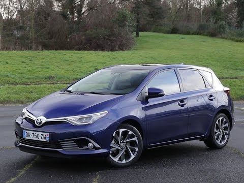 2015 toyota auris 1 2 turbo 116 hp test drive by test. Black Bedroom Furniture Sets. Home Design Ideas