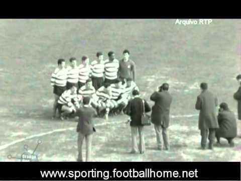 Benfica - 0 x Sporting - 0 de 1968/1969
