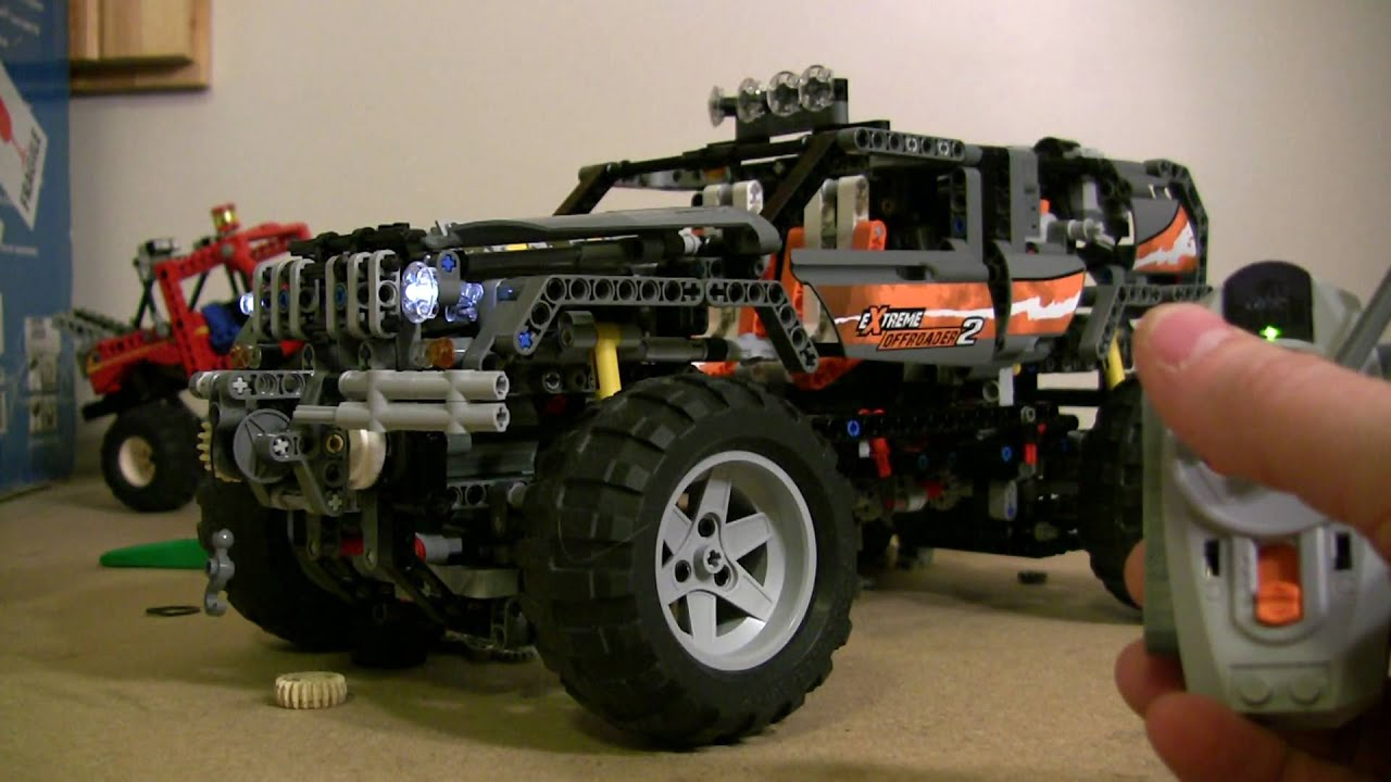 lego offroader 8297 4wd motorized youtube. Black Bedroom Furniture Sets. Home Design Ideas