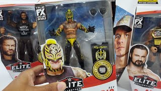 WWE ELITE TOP PICKS 2022 FULL SET ACTION FIGURE REVIEW Roman Reigns John Cena Rey Mysterio Drew