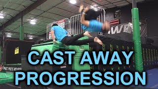 Progressions: Screw Driver Front Flip, Worm Cast, Cast Back