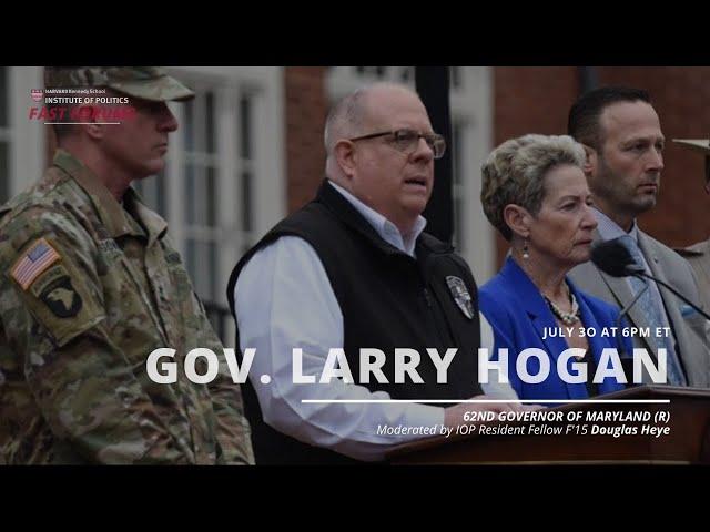 Fast Forum with Gov. Larry Hogan