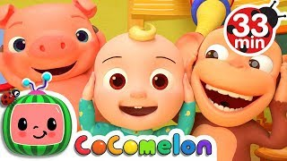 Head Shoulders Knees and Toes | +More Nursery Rhymes & Kids Songs - CoCoMelon thumbnail
