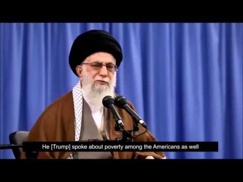 Ayatollah Khamenei On the American People's leaning toward Trump