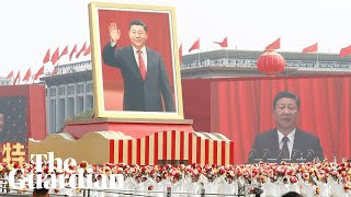 China marks 70th anniversary with military parade