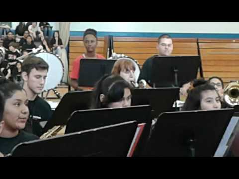 Sam Brannan Middle School band