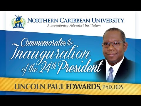 NCU 24th Presidential Inauguration - Dr. Lincoln Paul Edwards