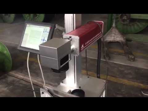 Kuntai Flying Type Fiber Laser Marking Machine for Cable ...