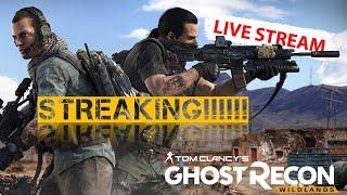 Streaking!!!!!!! GHOST RECON WILDLANDS PVP
